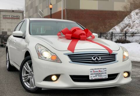 2011 Infiniti G37 Sedan for sale at Speedway Motors in Paterson NJ