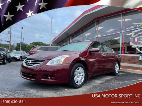 2010 Nissan Altima for sale at USA Motor Sport inc in Marlborough MA