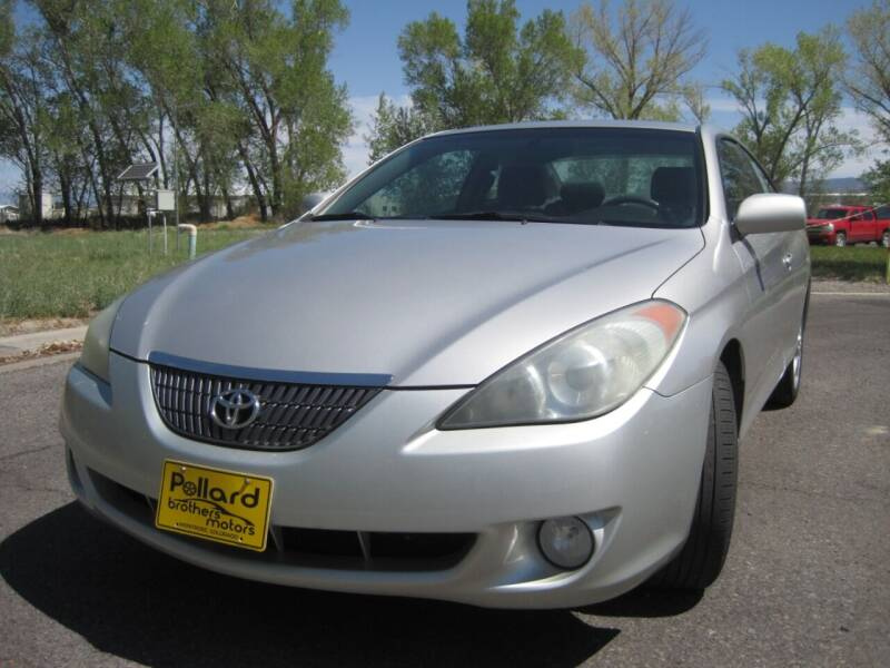 2005 Toyota Camry Solara for sale at Pollard Brothers Motors in Montrose CO