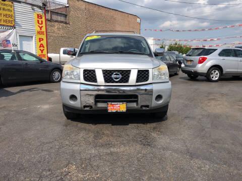 2006 Nissan Armada for sale at RON'S AUTO SALES INC in Cicero IL