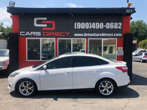 2014 Ford Focus for sale at Cars Direct in Ontario CA