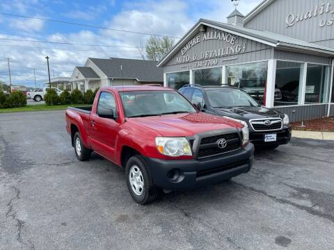 2011 Toyota Tacoma for sale at Empire Alliance Inc. in West Coxsackie NY