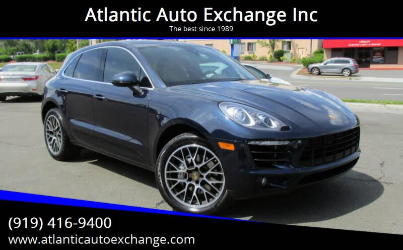 2017 Porsche Macan for sale at Atlantic Auto Exchange Inc in Durham NC