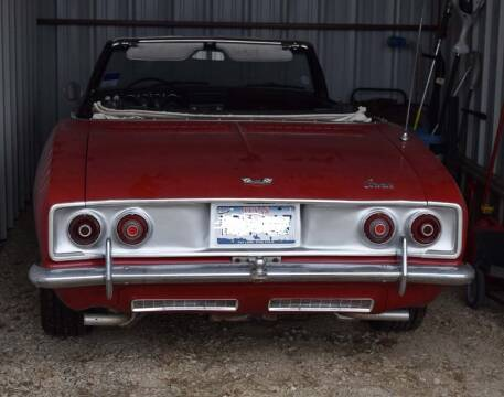 1966 Chevrolet Corvair for sale at BriansPlace in Lipan TX