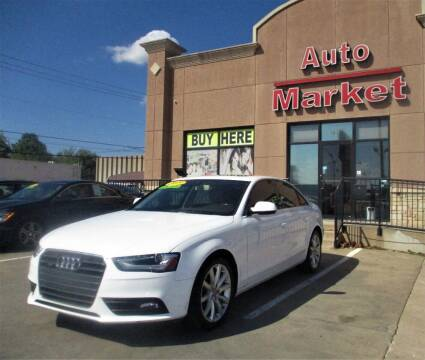 2013 Audi A4 for sale at Auto Market in Oklahoma City OK