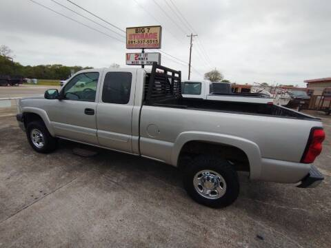 2004 Chevrolet Silverado 2500HD for sale at BIG 7 USED CARS INC in League City TX