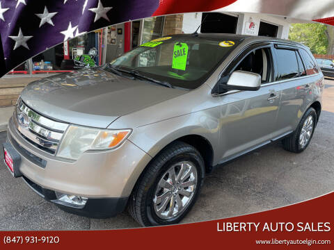 2008 Ford Edge for sale at Liberty Auto Sales in Elgin IL