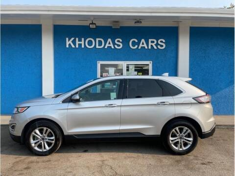 2015 Ford Edge for sale at Khodas Cars in Gilroy CA