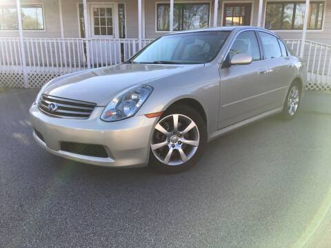 2005 Infiniti G35 for sale at Georgia Car Shop in Marietta GA