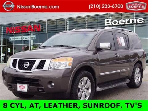 2014 Nissan Armada for sale at Nissan of Boerne in Boerne TX