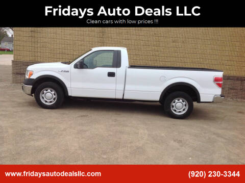 2012 Ford F-150 for sale at Fridays Auto Deals LLC in Oshkosh WI