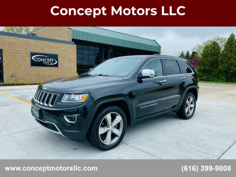 2014 Jeep Grand Cherokee for sale at Concept Motors LLC in Holland MI