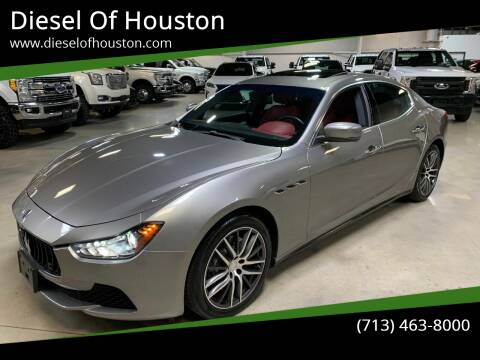 2015 Maserati Ghibli for sale at Diesel Of Houston in Houston TX