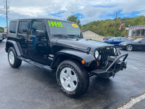 2009 Jeep Wrangler Unlimited for sale at Elk Avenue Auto Brokers in Elizabethton TN