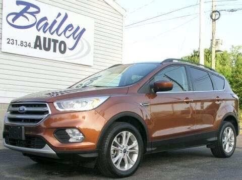 2017 Ford Escape for sale at Bailey Auto LLC in Bailey MI