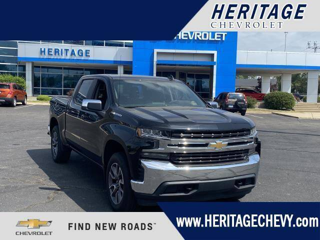 2020 Chevrolet Silverado 1500 for sale at HERITAGE CHEVROLET INC in Creek MI