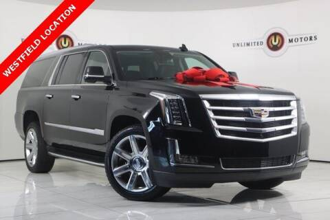 2020 Cadillac Escalade ESV for sale at INDY'S UNLIMITED MOTORS - UNLIMITED MOTORS in Westfield IN