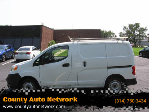 2016 Nissan NV200 for sale at County Auto Network in Ballwin MO