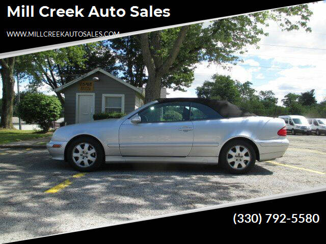 2000 Mercedes-Benz CLK for sale at Mill Creek Auto Sales in Youngstown OH