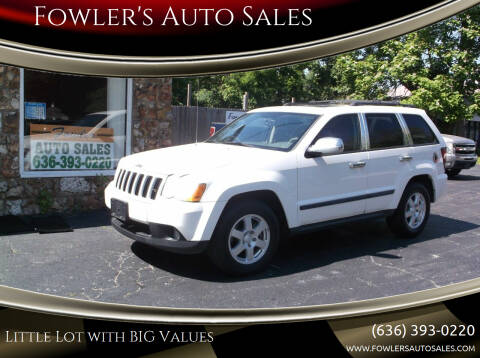 2009 Jeep Grand Cherokee for sale at Fowler's Auto Sales in Pacific MO