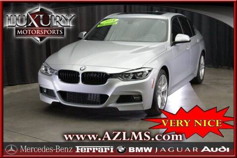 2018 BMW 3 Series for sale at Luxury Motorsports in Phoenix AZ