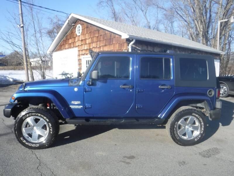 2010 Jeep Wrangler Unlimited for sale at Trade Zone Auto Sales in Hampton NJ