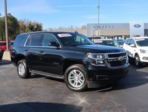 2019 Chevrolet Tahoe for sale at Stearns Ford in Burlington NC