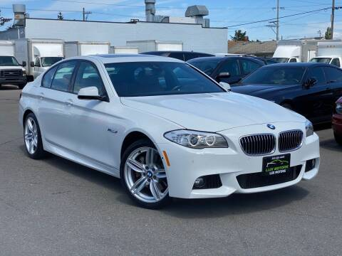2013 BMW 5 Series for sale at Lux Motors in Tacoma WA