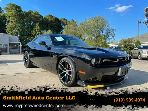 2018 Dodge Challenger for sale at Smithfield Auto Center LLC in Smithfield NC