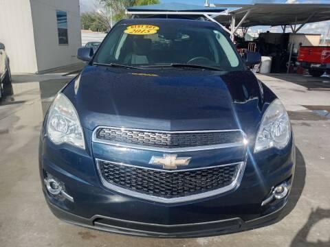 2015 Chevrolet Equinox for sale at Hugo Motors INC in El Paso TX