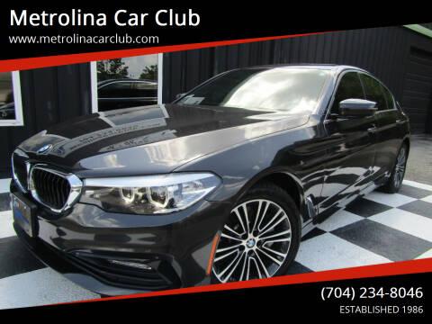 2017 BMW 5 Series for sale at Metrolina Car Club in Matthews NC