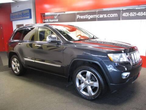 2012 Jeep Grand Cherokee for sale at Prestige Motorcars in Warwick RI