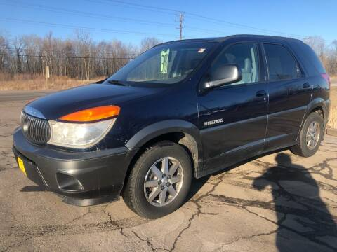 2002 Buick Rendezvous for sale at Sunshine Auto Sales in Menasha WI