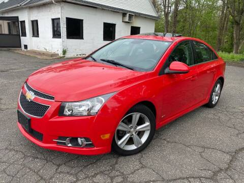 2014 Chevrolet Cruze for sale at East Windsor Auto in East Windsor CT