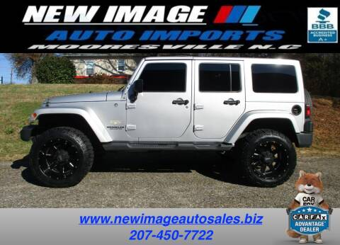 2012 Jeep Wrangler Unlimited for sale at New Image Auto Imports Inc in Mooresville NC