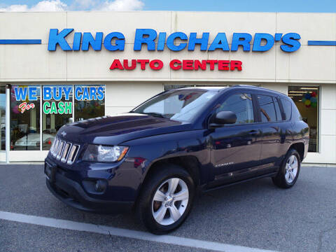2015 Jeep Compass for sale at KING RICHARDS AUTO CENTER in East Providence RI