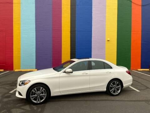 2018 Mercedes-Benz C-Class for sale at JOSE MESA AUTO WHOLESALE , LLC in Portland OR