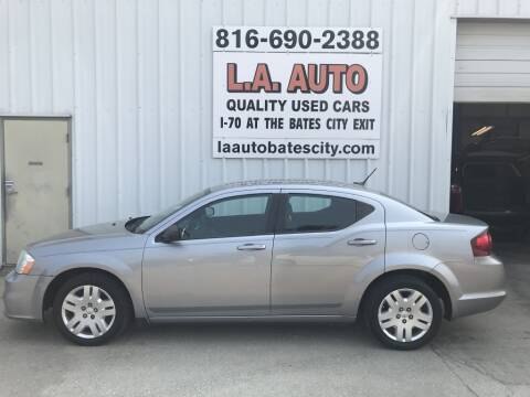 2013 Dodge Avenger for sale at LA AUTO in Bates City MO