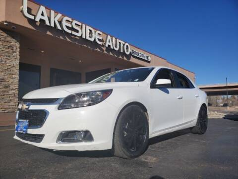2015 Chevrolet Malibu for sale at Lakeside Auto Brokers in Colorado Springs CO