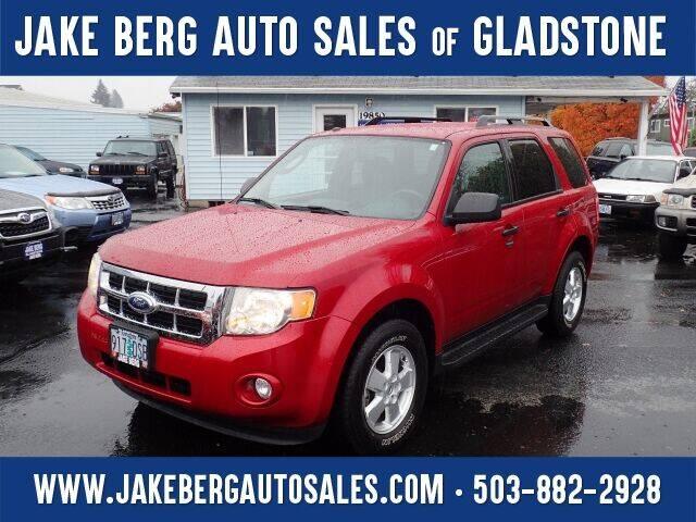 2011 Ford Escape for sale at Jake Berg Auto Sales in Gladstone OR