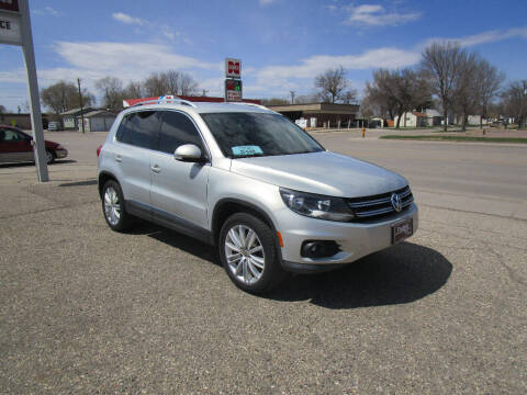 2013 Volkswagen Tiguan for sale at Padgett Auto Sales in Aberdeen SD