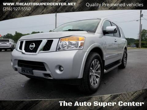 2015 Nissan Armada for sale at The Auto Super Center in Centre AL