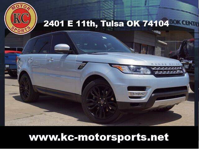 2015 Land Rover Range Rover Sport for sale at KC MOTORSPORTS in Tulsa OK