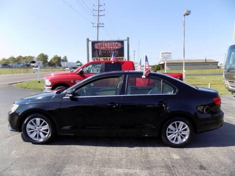 2015 Volkswagen Jetta for sale at MYLENBUSCH AUTO SOURCE in O'Fallon MO