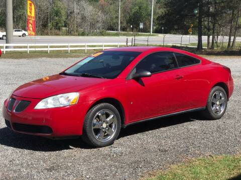 2007 Pontiac G6 for sale at 912 Auto Sales in Douglas GA