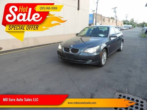 2010 BMW 5 Series for sale at MD Euro Auto Sales LLC in Hasbrouck Heights NJ