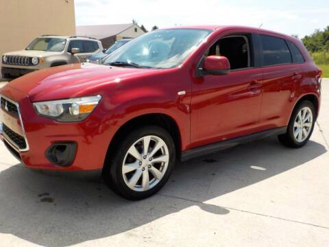 2015 Mitsubishi Outlander Sport for sale at Automotive Locator- Auto Sales in Groveport OH
