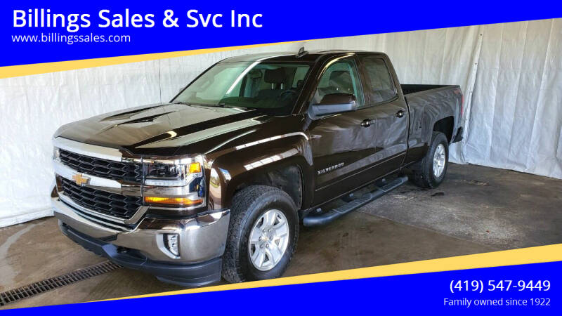 2018 Chevrolet Silverado 1500 for sale at Billings Sales & Svc Inc in Clyde OH