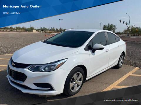 2018 Chevrolet Cruze for sale at Maricopa Auto Outlet in Maricopa AZ