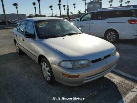 1996 GEO Prizm for sale at Matt Hagen Motors in Newport NC